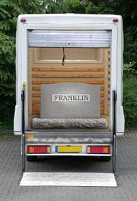 Gravestone Delivery