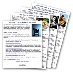 Pet Loss Resources for Grieving Pet Owners