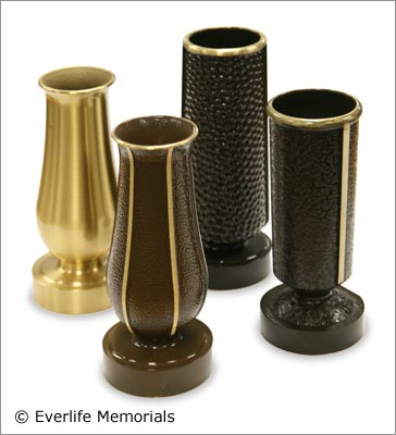 Replacement Bronze Vases For Stolen Damaged Or Missing Cemetery Vases